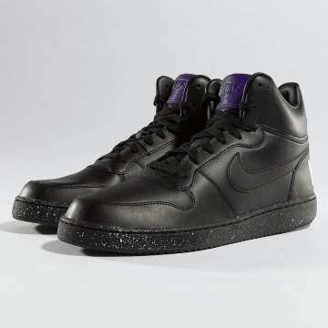 Nike sneaker Court Borough Mid zwart