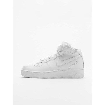 Nike Sneakers Air Force 1 Mid '07 Basketball Shoes bialy