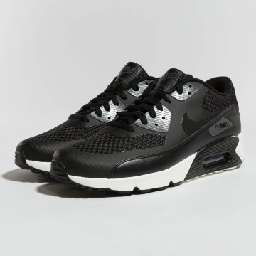 Authentic 175255 Nike Air Max 90 Men Black Red Shoes