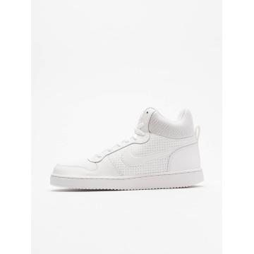 Nike Snejkry Court Borough Mid bílý
