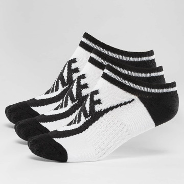Nike Socken Striped No-Show weiß