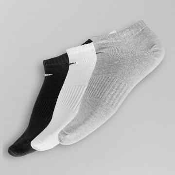 Nike Socks 3 Pack No Show Lightweight gray
