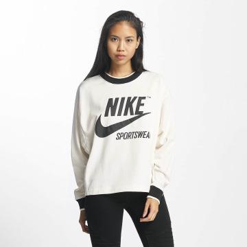 Nike Sweat & Pull NSW Crew Archive blanc