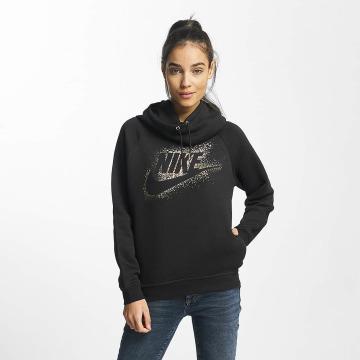 Nike Sweat capuche NSW Metallic Rally noir