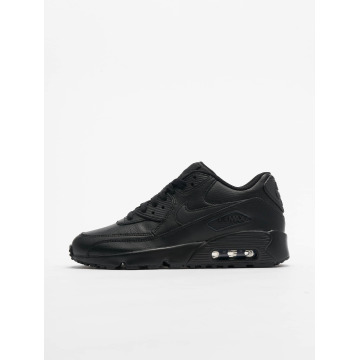 Nike Tøysko Air Max 90 Leather (GS) svart