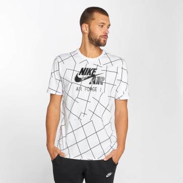 Nike T-paidat Air Force 1 2 valkoinen