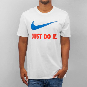 Nike T-Shirt New JDI Swoosh blanc