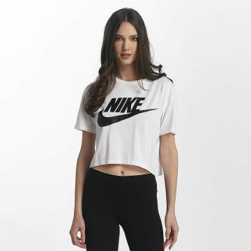 Nike T-Shirt Sportswear Essential Crop blanc