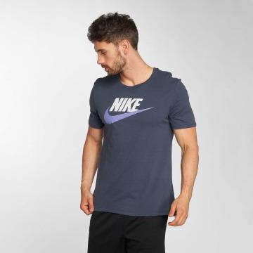 Nike t-shirt Futura Icon blauw