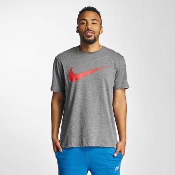 Nike T-Shirt Hangtag Swoosh gris