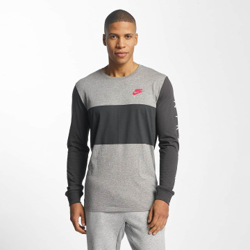 Nike T-Shirt manches longues Air NSW gris