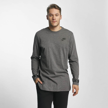 Nike T-Shirt manches longues NSW gris