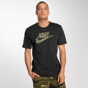 Nike t-shirt Sportswear Pack 2 Camo zwart