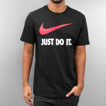 Nike T-Shirty New JDI Swoosh czarny