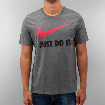 Nike Tričká New JDI Swoosh šedá