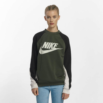 Nike trui NSW Crew khaki