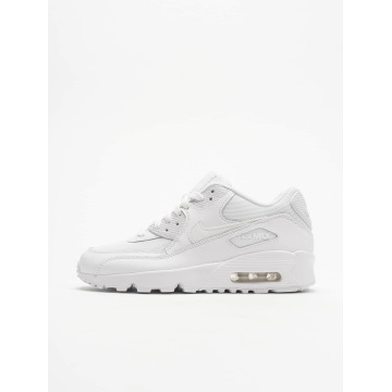 Nike Zapatillas de deporte Air Max 90 Mesh (GS) blanco