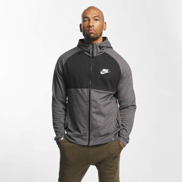 Nike Zip Hoodie Sportswear Advance 15 Fleece šedá