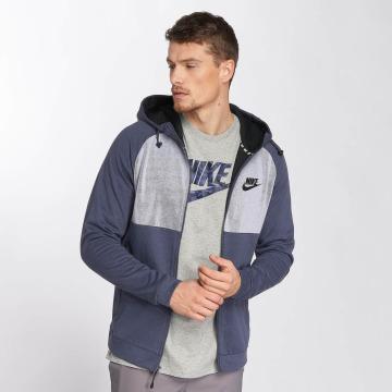 Nike Zip Hoodie AV15 Fleece blau