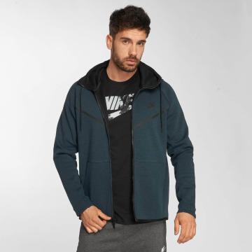 Nike Zip Hoodie Sportswear Tech Fleece Windrunner grün