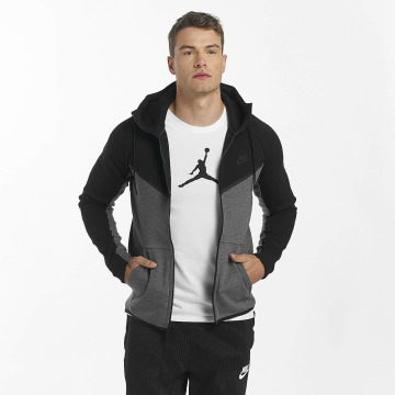 Nike Zip Hoodie NSW Tech Fleece svart