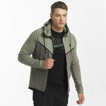 Nike Zip Hoodie NSW Tech Fleece zelená