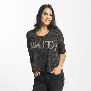 Nikita t-shirt Letharia zwart