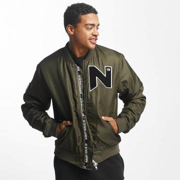 Nobody Berlin Куртка-бомбардир N Logo оливковый