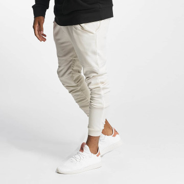 Nobody Berlin Pantalone ginnico Piping bianco