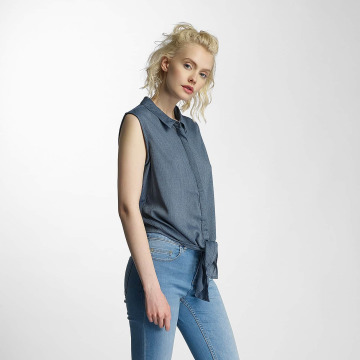 Noisy May Bluse nmEvelyn blau