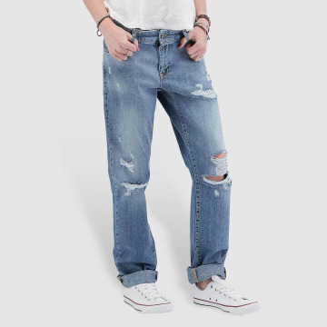 Noisy May Boyfriend Jeans nmScarlet Normal Waist Regular blue