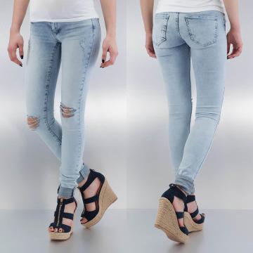 Noisy May Jean skinny nmKate Low Waisted Super Slim bleu