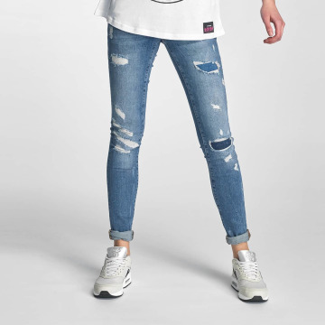 Noisy May Skinny jeans nmEve blå