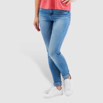 Noisy May Skinny jeans nmLucy Normal Waist Super Slim blauw