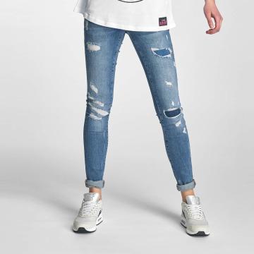 Noisy May Skinny Jeans nmEve modrý
