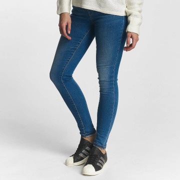 Noisy May Slim Fit Jeans nmLucy modrý