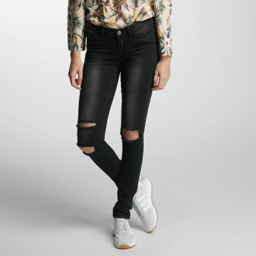 Noisy May Slim Fit Jeans nmEve Super Slim sort