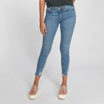 Noisy May Straight Fit Jeans Lucy modrý