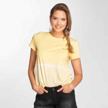 Noisy May T-Shirt nmDavida jaune