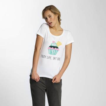 Noisy May T-shirt nmAxel Printed vit