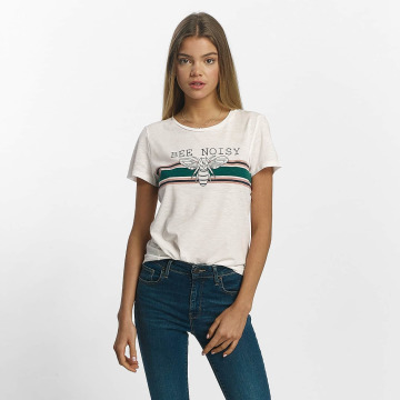 Noisy May T-Shirt nmNate weiß
