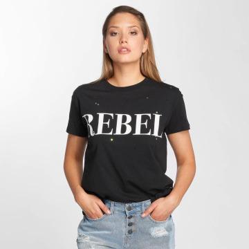 Noisy May t-shirt nmCommand zwart