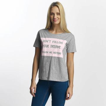 Noisy May T-shirts nmAlfred grå