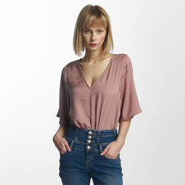 Noisy May Topssans manche Fast 2/4 Sleeve rose