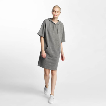 Noisy May Vestido nmWillow 3/4 Above Knee gris