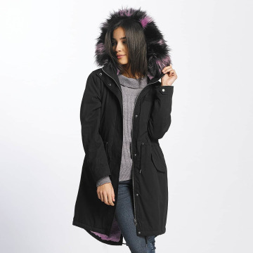 Noisy May Winterjacke nmStation schwarz