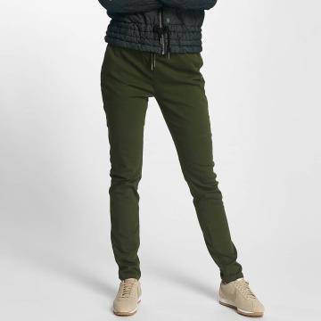 Nümph Pantalon chino New Lena vert