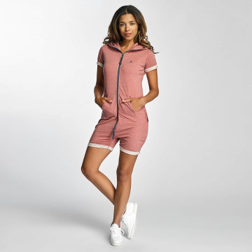 Onepiece Jumpsuits Fitted Short Onesie rosa