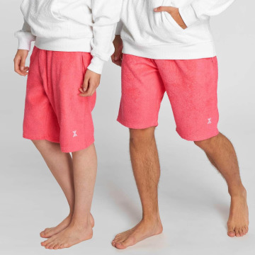 Onepiece Shorts Towel pink