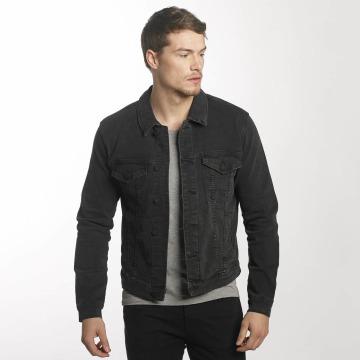 Only & Sons Демисезонная куртка onsCoin Trucker Denim черный